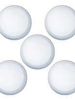 5 PCS LED 24W Surface Mounted Panel Ceiling Light 100-240V 160W Equivalent Incandescent Light
