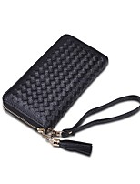 Women Bags All Seasons PU Clutch for Shopping Casual Gold Black Red Blushing Pink