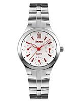Women's Wrist watch Quartz Stainless Steel Band Silver