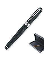 168 noir rouleau stylo à bille crocodile peau moyen plume cadeau
