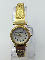 Women's Fashion Watch Bracelet Watch Casual Watch Quartz Metal Band Vintage Casual Gold