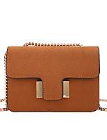 Women Bags All Seasons PU Shoulder Bag Zipper for Casual Outdoor Black Red Blushing Pink Gray Brown