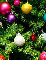 Fuentes modernas colgantes de la decoración de la Navidad del ornamento de la boda del partido de Navidad de las chucherías de la bola del