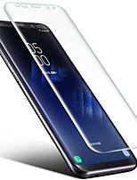 TPU Protector de pantalla para Samsung Galaxy Note 8 Protector de Pantalla Frontal Ultra Delgado Anti-Huellas Borde Curvado 3D