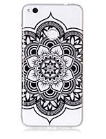 cassa per huawei p8 lite (2017) p10 lite telefono caso tpu materiale mandala modello hd cassa del telefono p9 lite