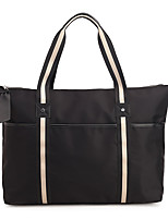 Women Bags All Seasons Oxford Cloth Tote Zipper for Casual Outdoor Black