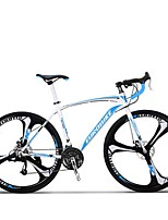 Cruiser Bike Cycling 27 Speed 26 Inch/700CC MICROSHIFT TS70-9 Disc Brake Non-Damping Steel Frame Carbon Anti-slipAluminum Alloy Carbon