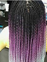 Trecce extra large Trecce di capelli L'Avana Treccine a boccoli Treccia colorata schiarita 100% capelli kanekalon Capelli 100% Kanekalon