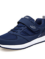 Men's Shoes Breathable Mesh Spring Fall Comfort Sneakers Lace-up For Casual Office & Career Blue Gray