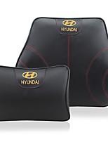 Settore automobilistico Kit di cuscino per poggiatesta e cuscini Per Hyundai Tutti gli anni Tutti i modelli Cuscini lombari per auto Pelle