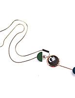Жен. Ожерелья с подвесками Геометрической формы Дерево Сплав Мода Простой стиль Бижутерия Назначение Повседневные