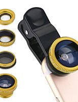 TEKIMBE Smartphone Camera Lenses 0.65X Wide Angle Lens 10X Macro Lens Fish-eye Lens CPL for ipad iphone Huawei xiaomi samsung