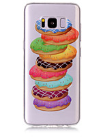 Fall für Samsung Galaxie s8 plus s8 Telefon Fall tpu Material Donuts Muster hd Handy Fall s7 Kante s7 s6 Rand s6 s5