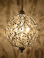 Rural Branches Crystal Droplight Individuality Creative Restoring Ancient Ways American Meals Bar Cafe Shop Balcony Corridor Lamp
