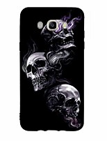 For Case Cover Pattern Back Cover Case Skull Soft TPU for Samsung Galaxy J7 (2016) J7 (2017) J7 V J7 Perx J7 J5 (2016) J5 (2017) J5 J3 J3