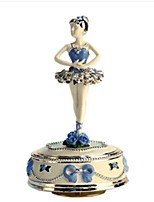 Music Box Toys Carousel Resin Pieces Unisex Birthday Valentine's Day Gift