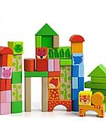 DIY KIT Building Blocks Educational Toy Toys Round Rectangular Square Pieces Boys Girls Gift