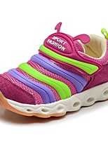 Baby Shoes Breathable Mesh Tulle Fall Comfort Loafers & Slip-Ons For Casual Royal Blue Fuchsia Dark Blue