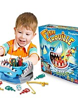 Desktop shark fishing moving the educational game toys
