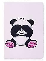 Pour iPad 10.5 Etuis coque Porte Carte Portefeuille Avec Support Clapet Motif Magnétique Coque Intégrale Coque Panda Dur Cuir PU pour