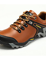 Hiking Shoes Running Shoes Mountaineer Shoes Men's Anti-Slip Wearable Leisure Sports Cowhide Rubber Hiking