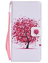 für Fallabdeckungs-Kartenhaltermappe mit Standplatz-Flipmagnetmuster Ganzkörper-Kastenbaum hartes PU-Leder für Samsung-Galaxieanmerkung 8