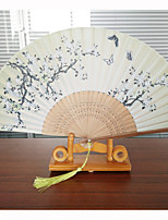 Fans and parasols-1 Piece/Set Hand Fans Beach Theme Garden Theme Butterly Theme Classic Theme Wedding Vintage Theme Rustic Theme Tassel