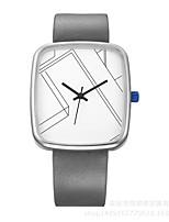 Herrn Damen Sportuhr Armbanduhr Einzigartige kreative Uhr Armbanduhren für den Alltag Chinesisch Quartz Wasserdicht Leder Echtes Leder