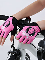 Sports Gloves Unisex Cycling Gloves Summer Bike Gloves Breathable Wicking Skidproof Fingerless Gloves Mesh Cycling Gloves/Bike Gloves