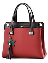 Women Bags Winter All Seasons PU Shoulder Bag Zipper for Casual Office & Career Dark Blue Gray Purple Army Green Wine