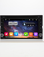 6.2 General 2 din capacitive touch lcd voiture dvd player android 6.0