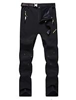 Per uomo Pantaloni da escursione Antivento Design anatomico Indossabile Resistente ai raggi UV Elastico Traspirabilità