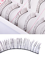 Eyelashes lash Full Strip Lashes Women Outdoor Lady Eye Daily Eyes Eyelash Universal Holiday Natural Long Lengthens the End of the Eye