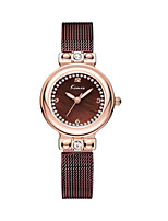 Women's Fashion Watch Quartz Water Resistant / Water Proof Alloy Band Charm Silver Brown Gold Rose Gold