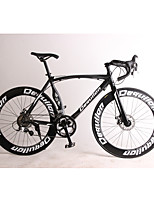 Cruiser Bike Cycling 18 Speed 26 Inch/700CC SHIMANO TX30 Disc Brake Non-Damping Aluminium Alloy Frame Anti-slip Aluminium AlloyAluminum