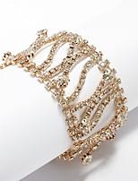Femme Chaînes & Bracelets Strass Mode Strass Alliage Bijoux Pour Soirée Quotidien