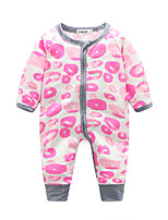 Baby Print One-Pieces,Cotton Spring Long Sleeve