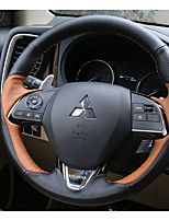 Automotive Steering Wheel Covers(Leather)For Mitsubishi Motors 2016 2017 Outlander