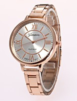 Women's Fashion Watch Wrist watch Chinese Quartz Alloy Band Casual Silver Gold Rose