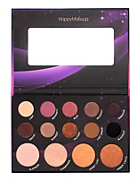 14 Lidschattenpalette Trocken Matt Schimmer Mineral Lidschatten-Palette Alltag Make-up Halloween Make-up Party Make-up Feen Makeup Cateye