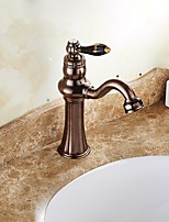 Centerset Ceramic Valve Bathroom Sink Faucet