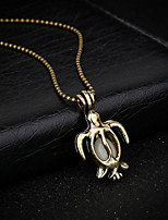 Women's Pendant Necklaces Turtle Alloy Animal Design Jewelry For Gift Casual