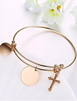 Women's Bangles Fashion Classic Gold Plated Jewelry For Wedding Office & Career