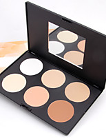 1 Concealer/Contour Pressed Powder Dry Matte Pressed powder Face
