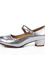 Women's Modern Cowhide Heel Outdoor Customized Heel Silver Gold 1 - 1 3/4 2 - 2 3/4 Customizable