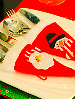 2pc merry christmas snowman coppie sedia copre natale decorazioni ornamento navidad cena decorazione sedia porta regali