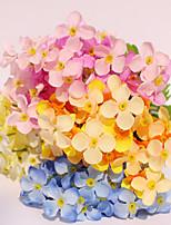 1 Ramo Plástico Cravo Flor de Mesa Flores artificiais