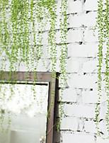1 Branch Plastic Plants Tabletop Flower Artificial Flowers