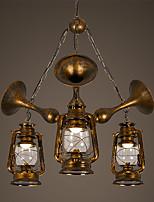 Retro Traditionell-Klassisch Pendelleuchten Für Esszimmer Korridor Shops/ Cafés AC 220-240 AC 110-120V Inklusive Glühbirne