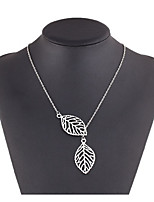 Жен. Ожерелья-бархатки В форме листа Сплав Мода Бижутерия Назначение Свадьба Повседневные